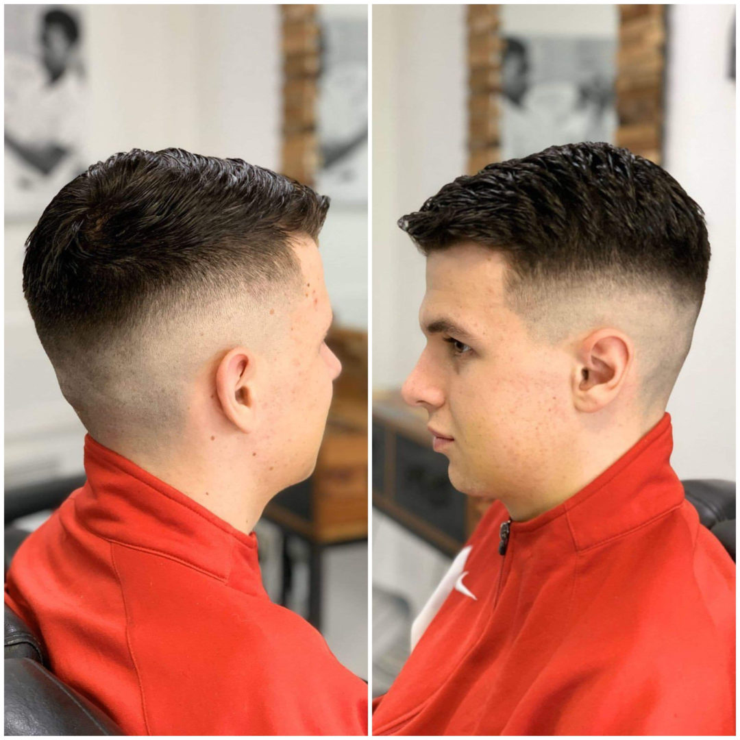 Coiffure Homme Brest Finistere Coupe Cheveux Barbier Degrade Americain